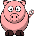 1245696592590661388bloodsong_Pig-RoundCartoon.svg.med